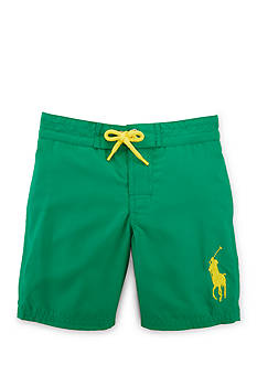 Ralph Lauren Childrenswear Solid Boardshort Boys 4-7