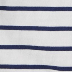 Little Boys T-shirts: White Multi Ralph Lauren Childrenswear 12 STRIPE VN T-SHIRT DECKWASH WHITE MULTI
