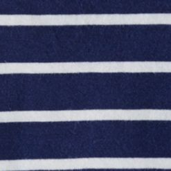 Little Boys T-shirts: Dark Cobalt Ralph Lauren Childrenswear 12 STRIPE VN T-SHIRT DECKWASH WHITE MULTI