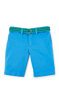 Ralph Lauren Childrenswear Belted Chino Short Boys 4-7