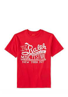 Ralph Lauren Childrenswear Music Festival Graphic Tee Boys 4-7
