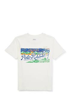 Ralph Lauren Childrenswear Graphic Tee Boys 4-7