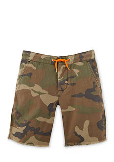Ralph Lauren Childrenswear Camo Canvas Shorts Boys 4-7