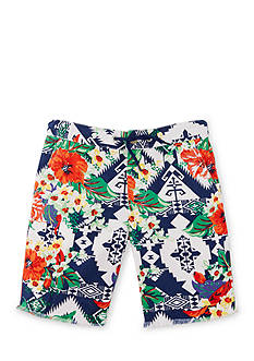 Ralph Lauren Childrenswear Floral Twill Short Boys 4-7