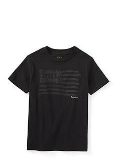 Ralph Lauren Childrenswear American Flag Graphic Tee Boys 4-7
