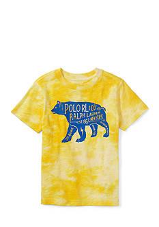 Ralph Lauren Childrenswear Tie Dye Graphic Tee Boys 4-7