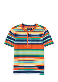 Ralph Lauren Childrenswear Stripe Henley Tee Boys 4-7
