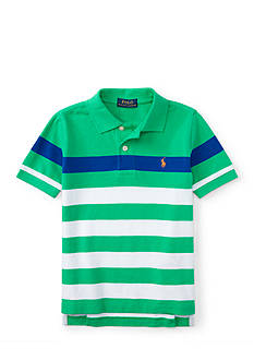 Ralph Lauren Childrenswear Stripe Polo Shirt Boys 4-7