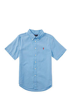 Ralph Lauren Childrenswear Cotton Short Sleeve Boys 4-7
