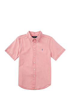 Ralph Lauren Childrenswear Cotton Short Sleeve Boys 4-7