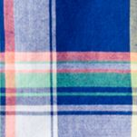 Baby & Kids: Button Front Sale: Blue/Green Multi Ralph Lauren Childrenswear Madras Short Sleeve Boys 4-7