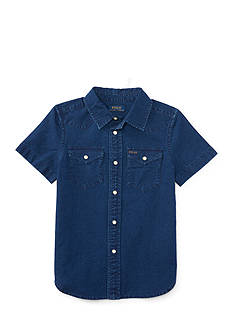 Ralph Lauren Childrenswear Oxford Western Shirt Boys 4-7