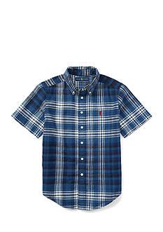 Ralph Lauren Childrenswear Henley Classic Oxford Shirt Boys 4-7