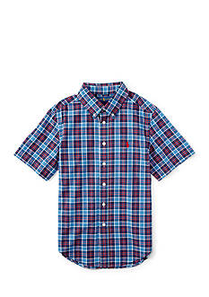 Ralph Lauren Childrenswear Madras Shirt Boys 4-7