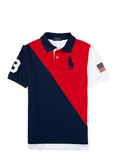 Ralph Lauren Childrenswear Flag Polo Boys 4-7