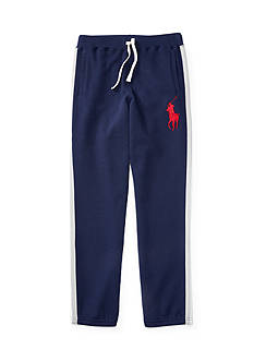 Ralph Lauren Childrenswear Striped Fleece Pants Boys 4-7