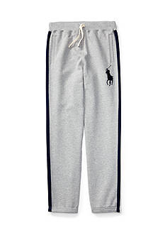 Ralph Lauren Childrenswear Striped Fleece Pants Boys 4-7