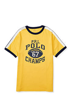 Ralph Lauren Childrenswear Jersey Ringer Tee Boys 4-7