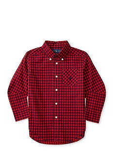 Ralph Lauren Childrenswear Buffalo Plaid Shirt Boys 4-7