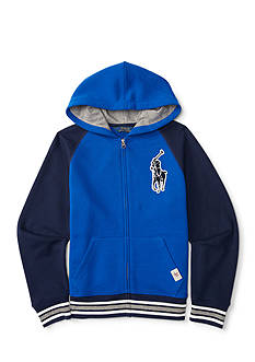 Ralph Lauren Childrenswear Varsity Hoodie Boys 4-7