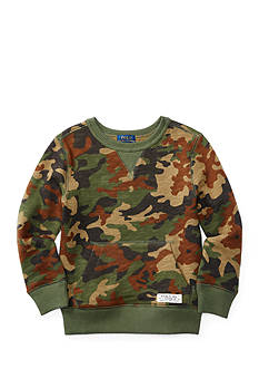 Ralph Lauren Childrenswear Camo Print Fleece Boys 4-7