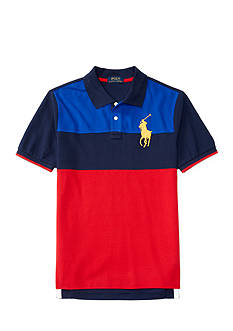 Ralph Lauren Childrenswear Striped Polo Shirt Boys 4-7