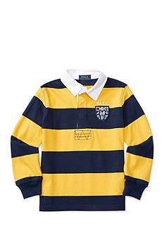 Ralph Lauren Childrenswear Jersey Stripe Rugby Top Boys 4-7