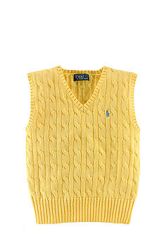 Ralph Lauren Childrenswear Cable-Knit Vest Boys 8-20