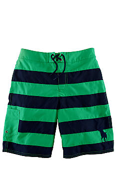 Ralph Lauren Childrenswear Tulum Swim Trunk Boys 8-20