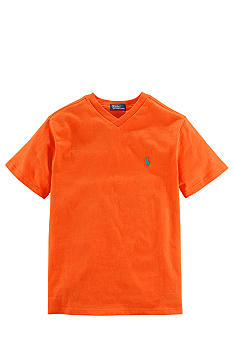 Ralph Lauren Childrenswear Classic V-Neck Tee Boys 8-20