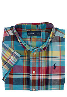 Ralph Lauren Childrenswear Madras Print Shirt Boys 8-20