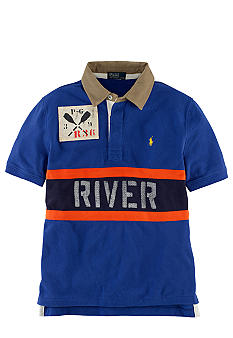 Ralph Lauren Childrenswear Blue River Polo Shirt Boys 8-20