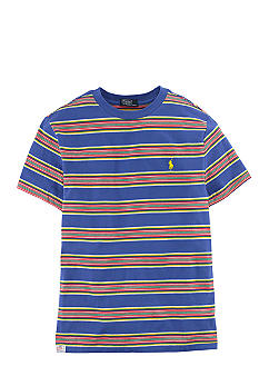 Ralph Lauren Childrenswear Classic Striped Crewneck Tee Boys 8-20