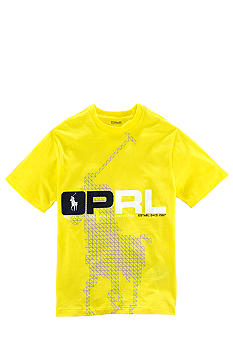 Ralph Lauren Childrenswear Graphic Screen Print Tee Boys 8-20