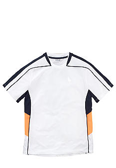 Ralph Lauren Childrenswear White Soft-Touch Active Tee Boys 8-20