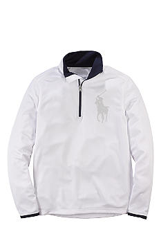 Ralph Lauren Childrenswear Half-Zip Jacket