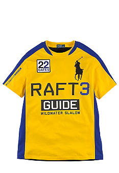 Ralph Lauren Childrenswear Yellow Wild River Tee Boys 8-20