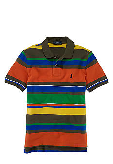 Ralph Lauren Childrenswear Bright Stripe Polo Boys 8-20