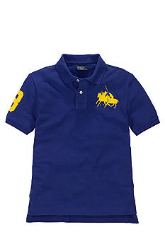 Ralph Lauren Childrenswear Dual Match Embroidered Polo Boys 8-20