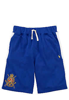 Ralph Lauren Childrenswear Crest Embroidered Mesh Short Boys 8-20