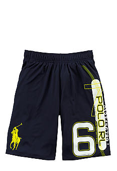 Ralph Lauren Childrenswear Navy Active PRL Lacrosse Short Boys 8-20