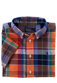 Ralph Lauren Childrenswear Ultra Preppy Plaid Shirt Boys 8-20