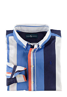 Ralph Lauren Childrenswear Striped Blake Sport Shirt Boys 8-20