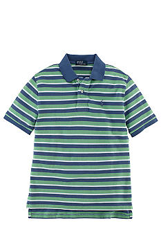 Ralph Lauren Childrenswear Contrast Stripes Polo Boys 8-20