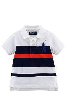 Ralph Lauren Childrenswear Bold Stripe Polo Boys 8-20