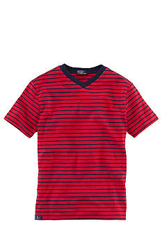 Ralph Lauren Childrenswear Nautical Stripe V-Neck Tee Boys 8-20