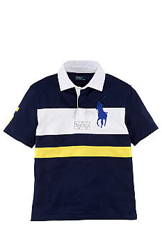 Ralph Lauren Childrenswear Contrast Stripes Rugby Boys 8-20