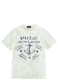 Ralph Lauren Childrenswear Marine Logo Graphic Tee Boys 8-20