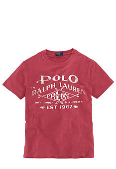 Ralph Lauren Childrenswear Logo Graphic Tee Boys 8-20