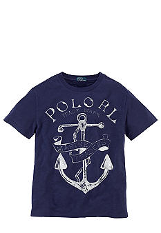 Ralph Lauren Childrenswear Anchor Screenprint Tee Boys 8-20